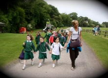 Junior Infants' trip to Fota