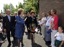 President McAleese celebrates our 50th anniv