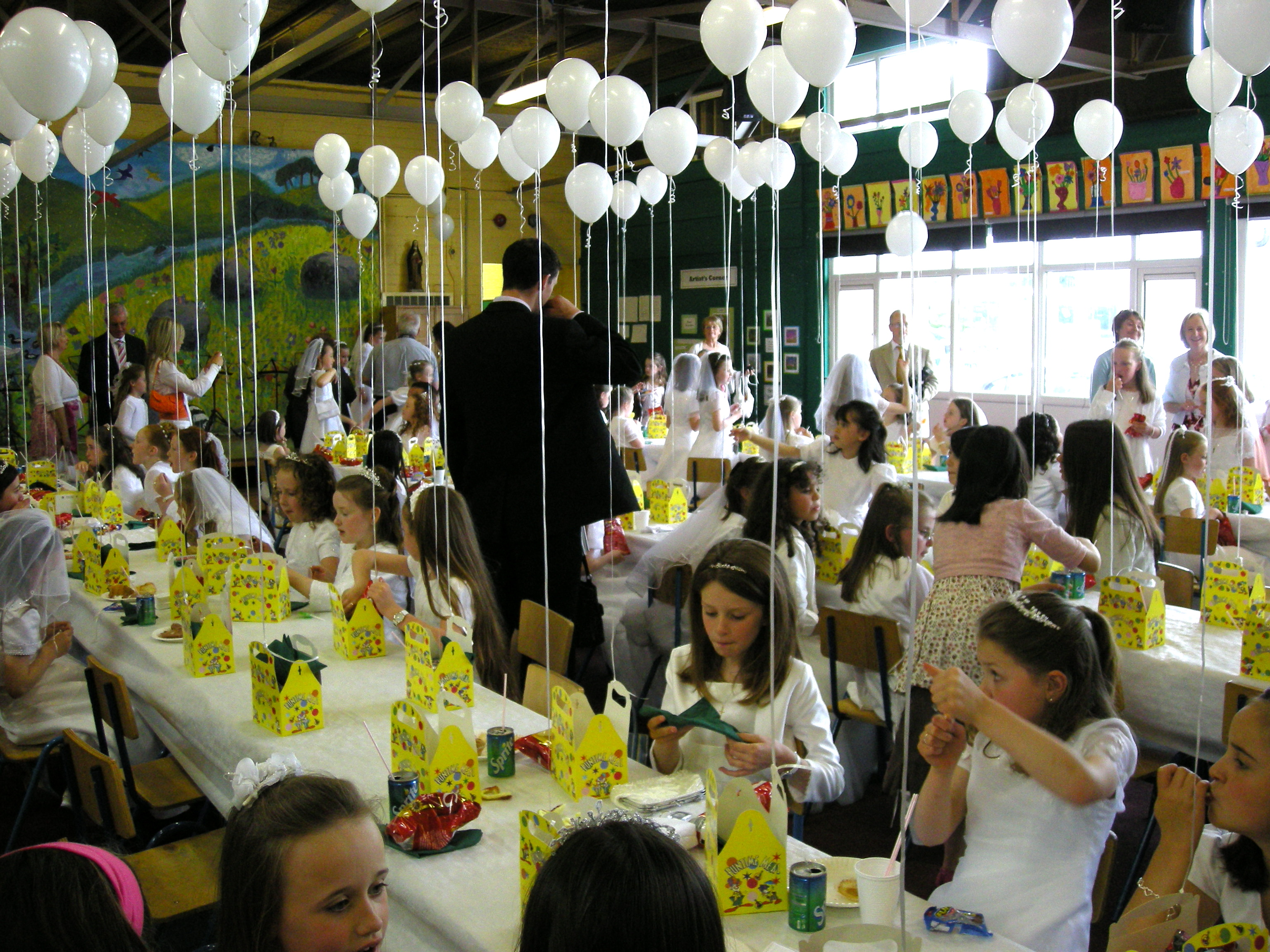First Holy Communion Breakfast