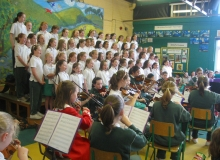 School Orchestra & Choir